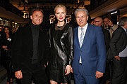 Harald G. Huth, Franziska Knuppe und Klaus Wowereit (©Fotos: Franziska Krug/ Getty Images for LP 12 - Mall of Berlin)